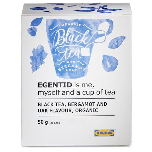 IKEA EGENTID Černý čaj
