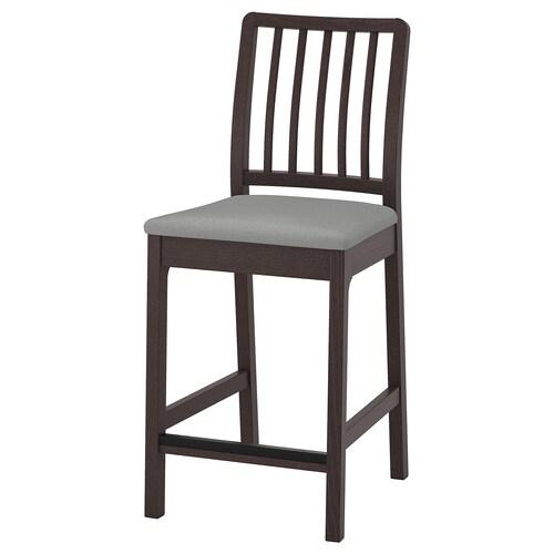 IKEA EKEDALEN Barová stolička s opěrkou