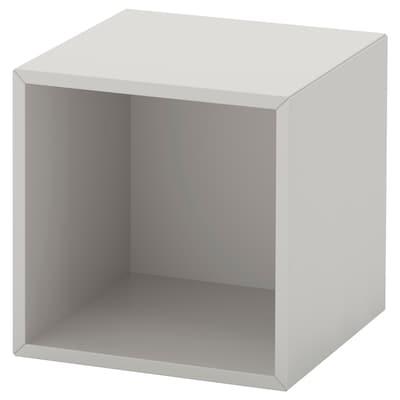EKET nástěnný policový díl světle šedá 35 cm 35 cm 35 cm