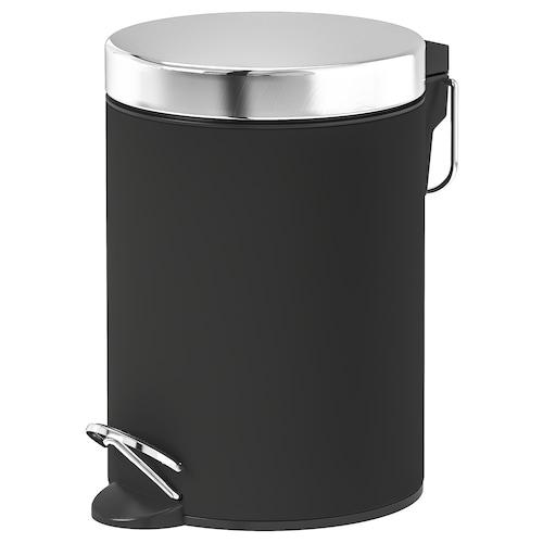 EKOLN odpadkový koš tmavě šedá 24 cm 17 cm 3 l