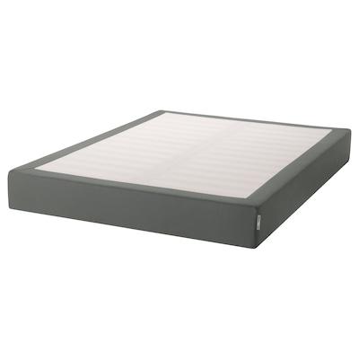 ESPEVÄR Rám pod matraci, tmavě šedá, 140x200 cm