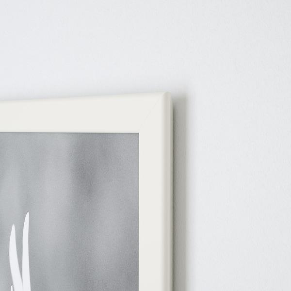 FISKBO Rám, bílá, 10x15 cm