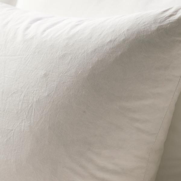FJÄDRAR Výplň polštáře, krémová, 50x50 cm