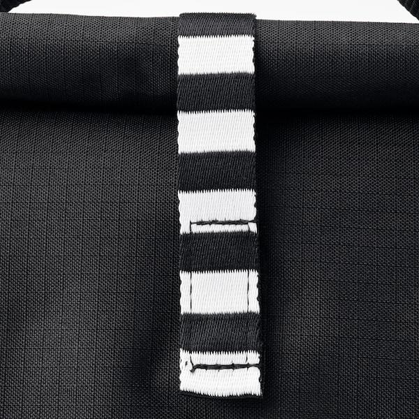 FRAMTUNG Taška na obědy, černá, 22x17x35 cm