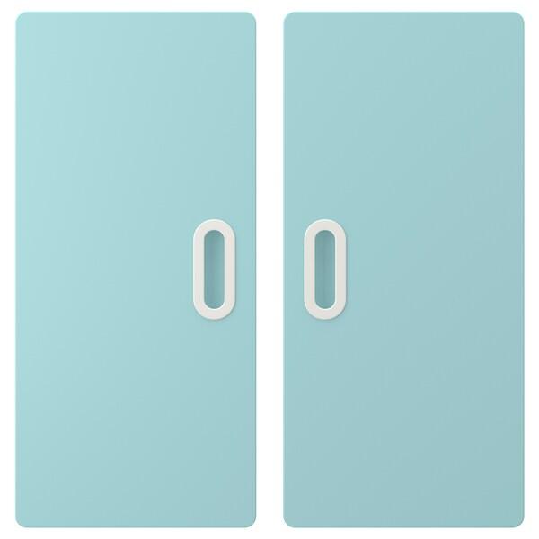 FRITIDS dveře sv.modrá 60.0 cm 64.0 cm 2 ks