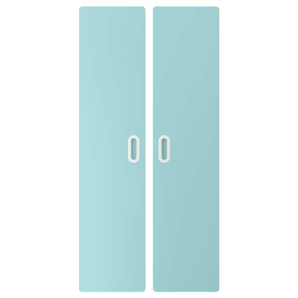 FRITIDS dveře sv.modrá 60.0 cm 128 cm 2 ks