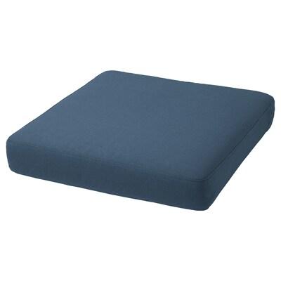 FRÖSÖN/DUVHOLMEN Sedák, venkovní, modrá, 62x62 cm
