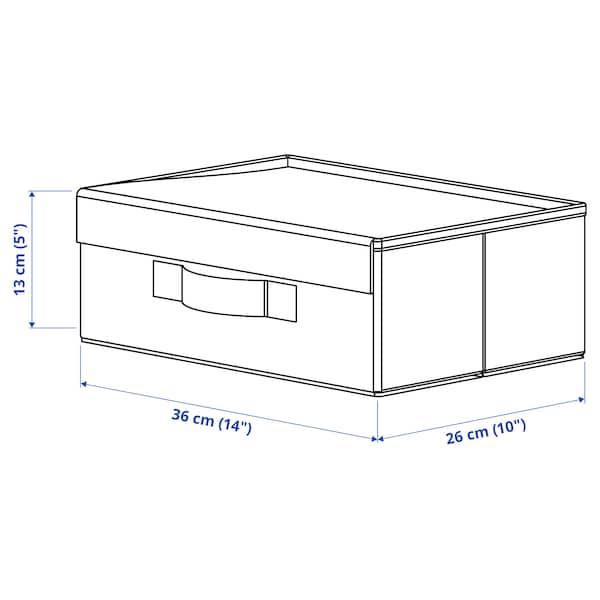 FULLSMOCKAD Krabice na obuv, 36x26x13 cm