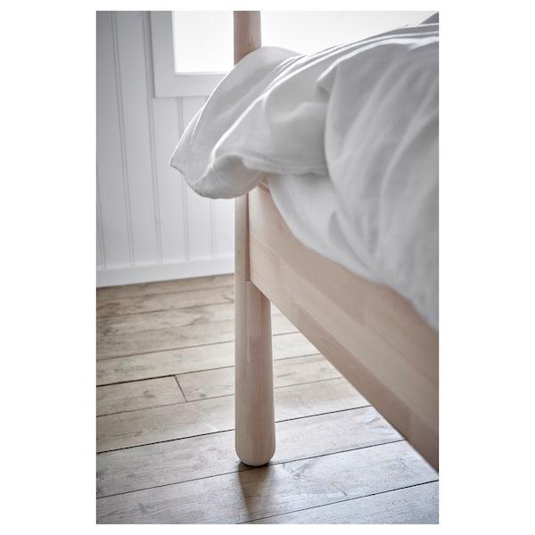 GJÖRA rám postele bříza 211 cm 174 cm 97 cm 175 cm 200 cm 160 cm