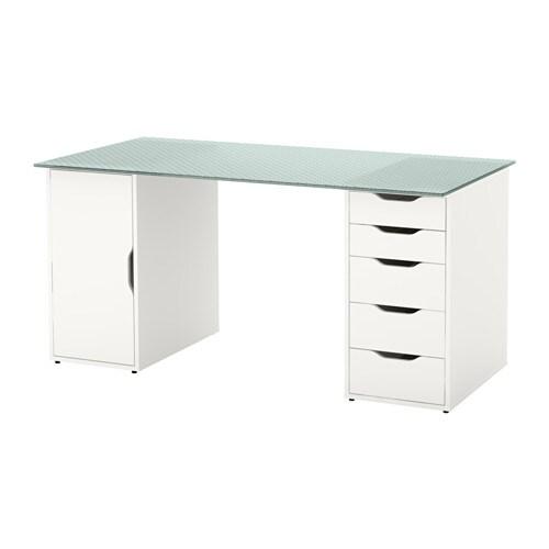 Glasholm alex st l ikea - Schreibtisch zusammenstellen ...