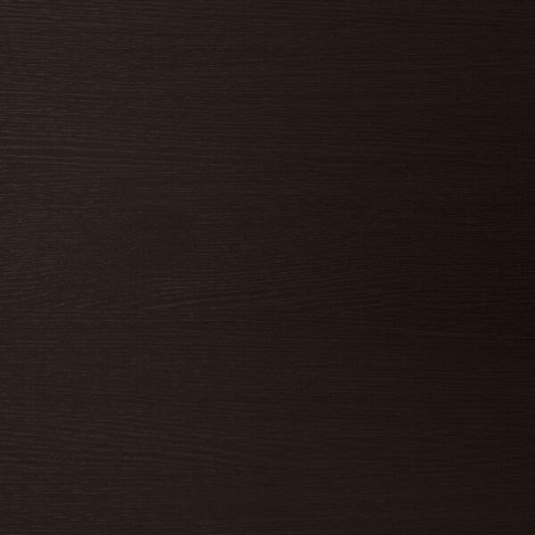 GODMORGON umyvadlová skříňka se 4 zásuvkami černohnědá 120 cm 47 cm 58 cm