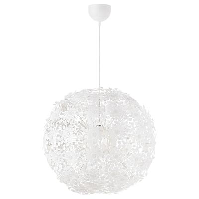 GRIMSÅS závěsná lampa bílá 8.6 W 55 cm 1.4 m