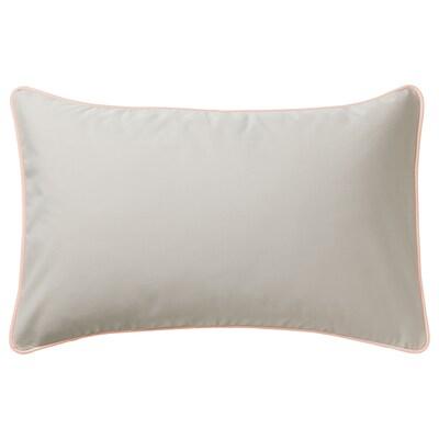 GULLINGEN povlak na polštář vn./venkovní/béžová 40 cm 65 cm