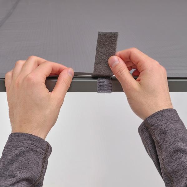 GUNNÖN Altán, tmavě šedá/šedá, 238x233 cm