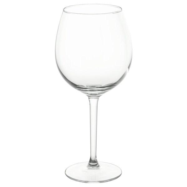 IKEA HEDERLIG Sklenka na červené víno