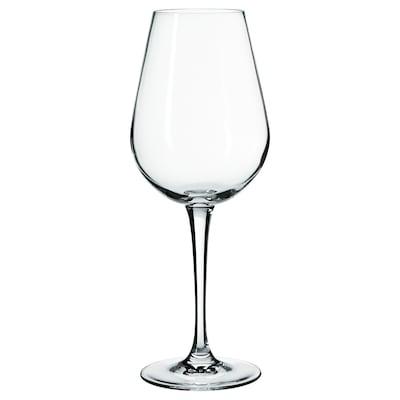 HEDERLIG Sklenka na bílé víno, čiré sklo, 35 cl
