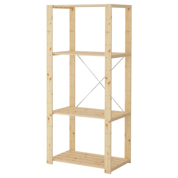 HEJNE 1 část, měkké dřevo, 78x50x171 cm