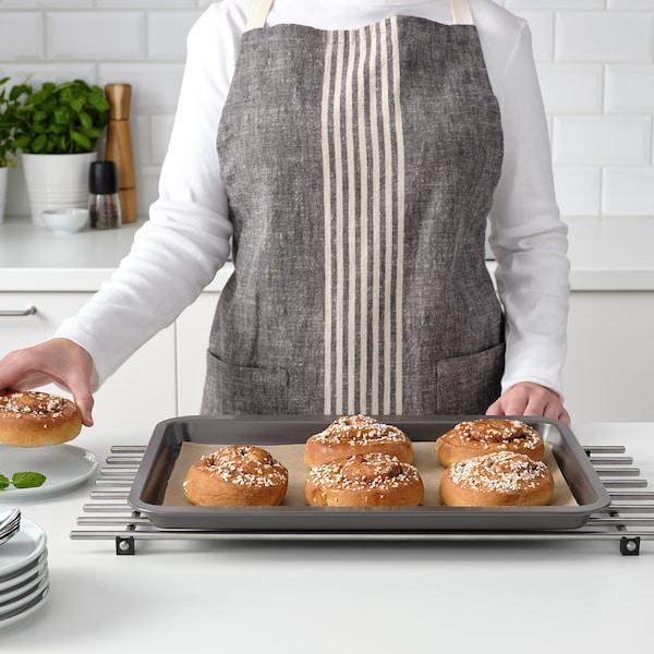 HEMMABAK Forma na pečení, šedá, 40x30 cm