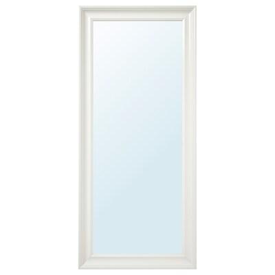 HEMNES zrcadlo bílá 74 cm 165 cm