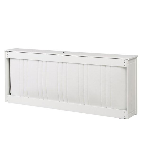 HEMNES Úložný díl na matraci, bílá