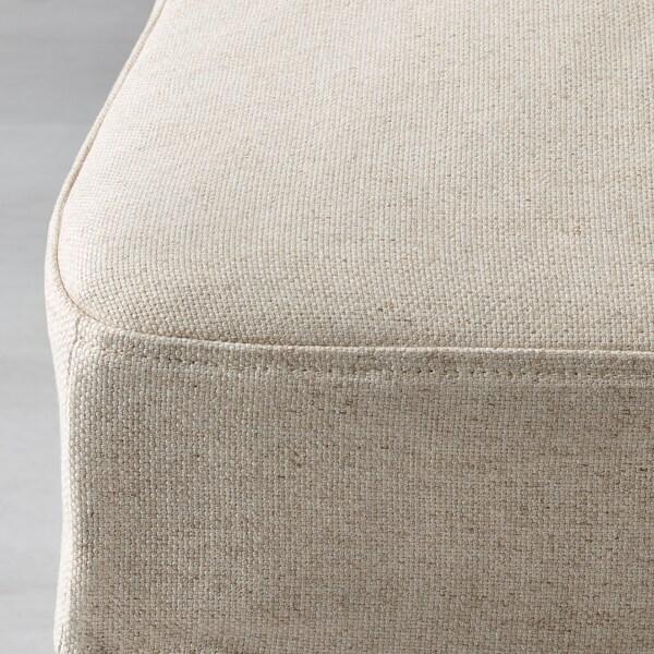 HENRIKSDAL potah židle Linneryd přírodní