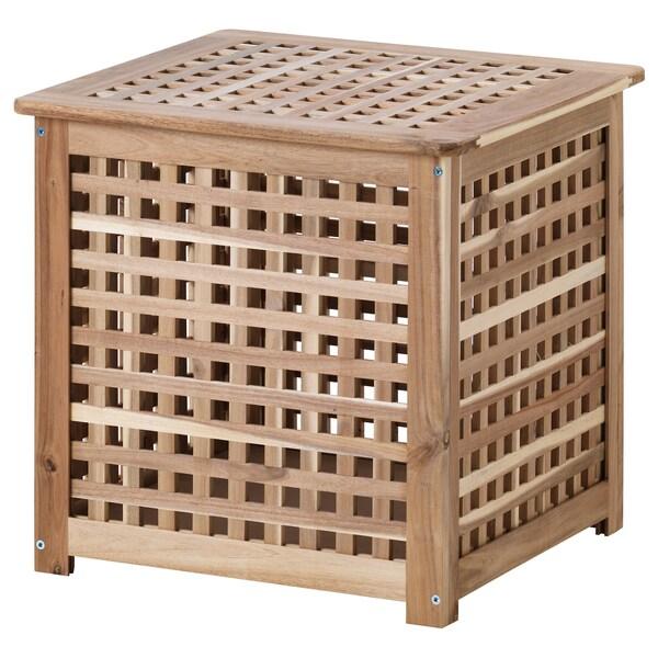 HOL odkládací stolek akácie 50 cm 50 cm 50 cm