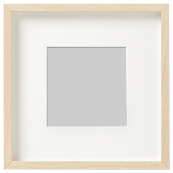 HOVSTA Rám, vzor bříza, 23x23 cm