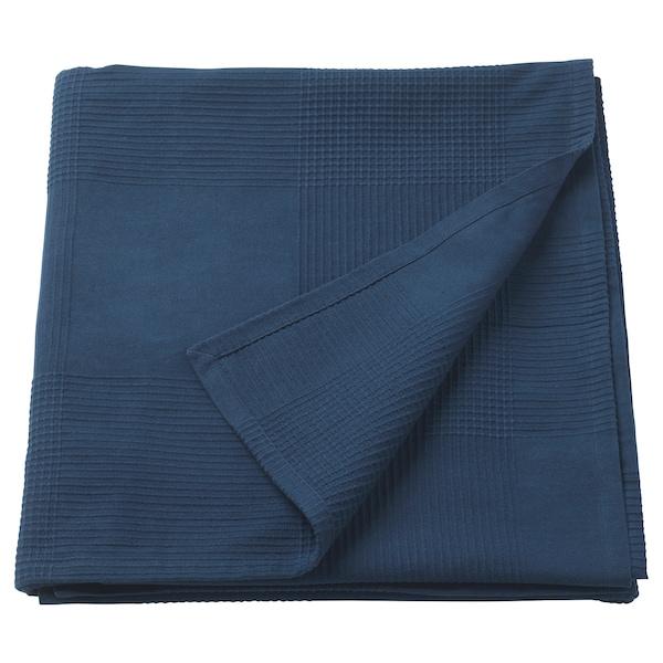 INDIRA přehoz na postel tm.modrá 250 cm 230 cm