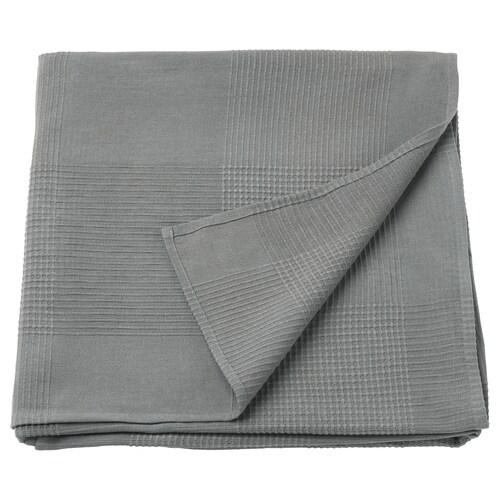 INDIRA přehoz na postel šedá 250 cm 150 cm