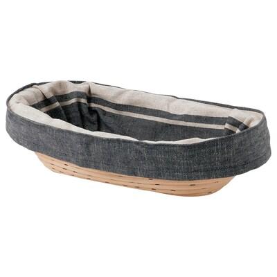 JÄSNING Košík kynutí/chléb, 30x17 cm