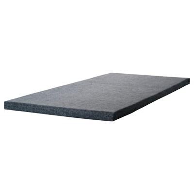 JAREN Molitanová matrace, šedá, 90x200 cm