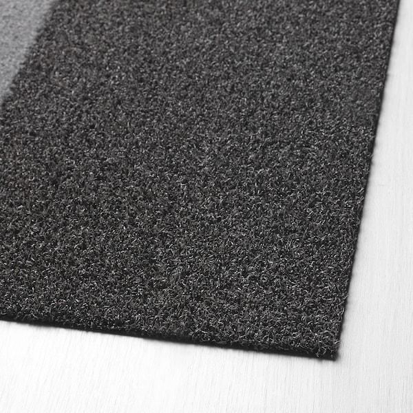 JERSIE rohožka tmavě šedá 90 cm 60 cm 6 mm 0.54 m² 1530 g/m² 321 g/m² 4 mm