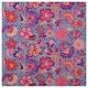 KARISMATISK Látka, různé vzory růžová/modrá, 150x300 cm