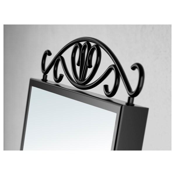 KARMSUND stolní zrcadlo černá 27 cm 43 cm