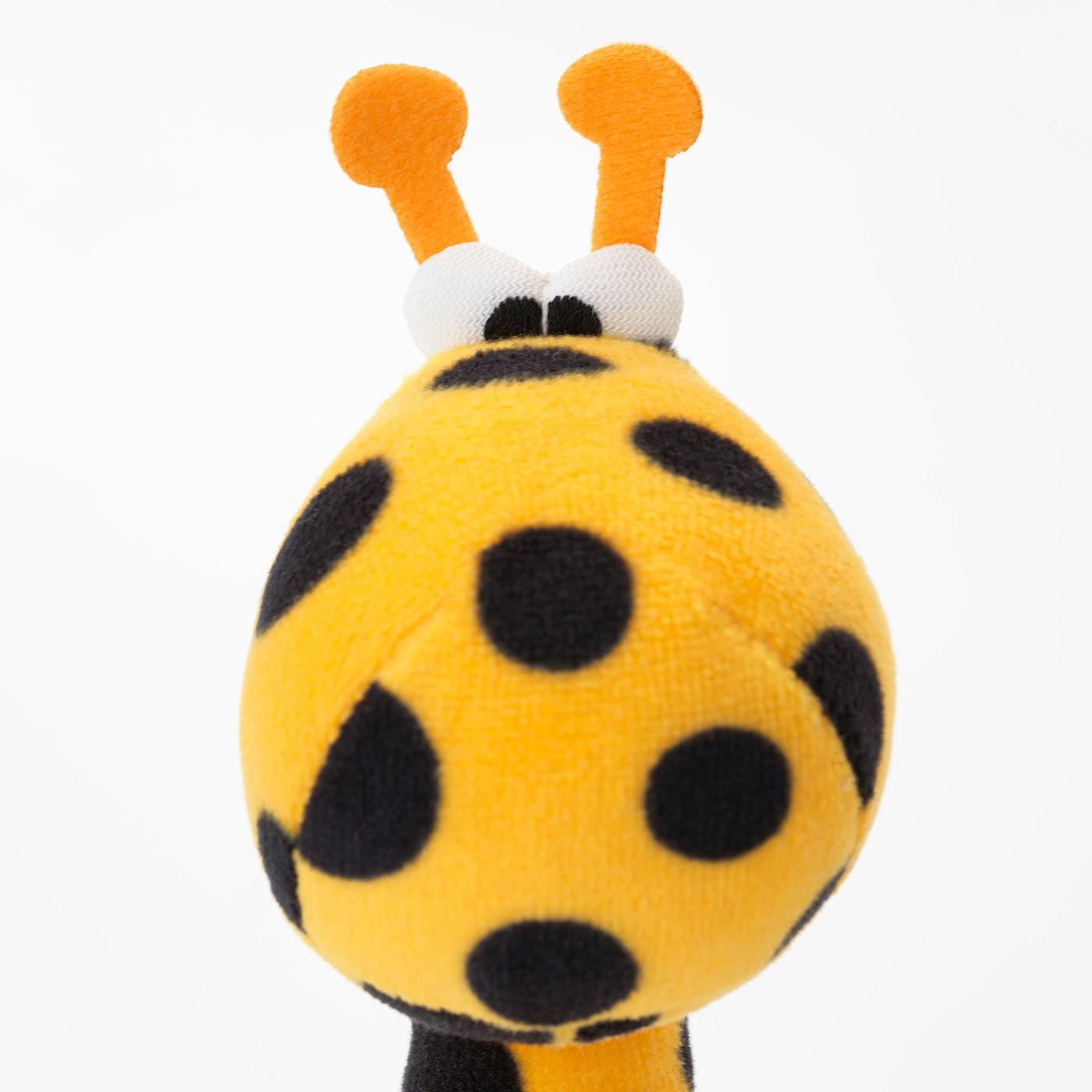 KLAPPA chrastítko barevné/žlutá 14 cm