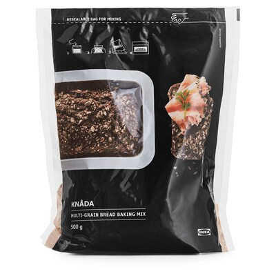 KNÅDA Vícezrnná směs na peč. chleba, 500 g