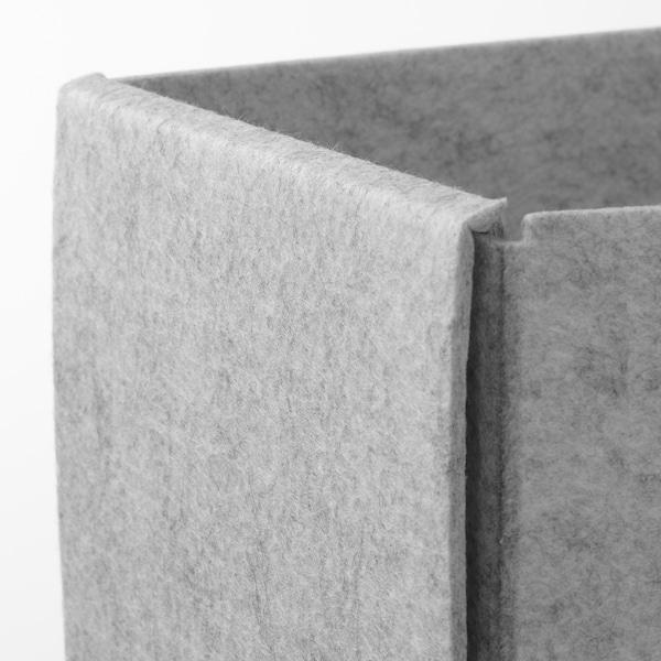 KOMPLEMENT Krabice, světle šedá, 15x27x12 cm