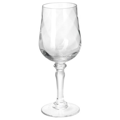 KONUNGSLIG sklenka na víno čiré sklo 33 cl