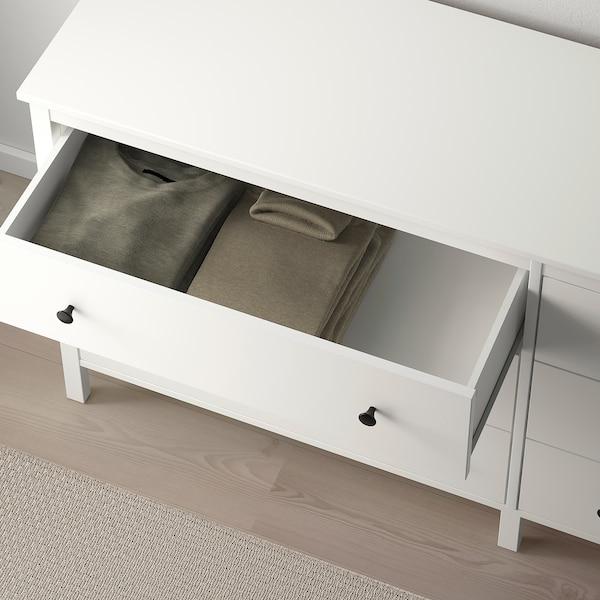 KOPPANG Komoda se 6 zásuvkami, bílá, 172x83 cm