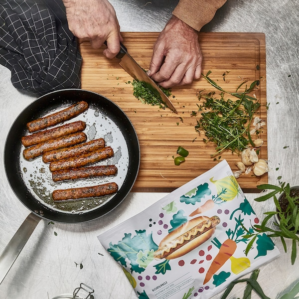 IKEA KORVMOJ Hot dog pro vegetariány