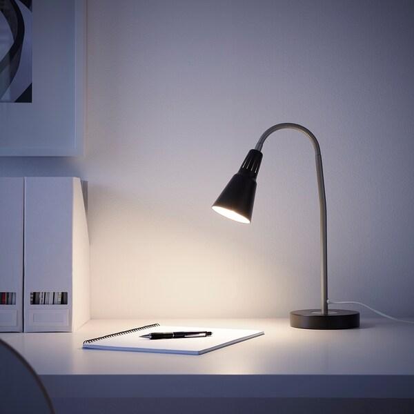 KVART pracovní lampa černá 7 W 44 cm 14 cm 8.5 cm 1.9 m