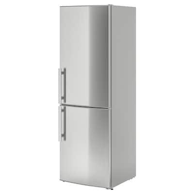KYLIG chladnička/mraznička A++ Automatické rozmrazování nerezavějící ocel 59.5 cm 67.7 cm 184.5 cm 210 cm 220 l 91 l 63.00 kg