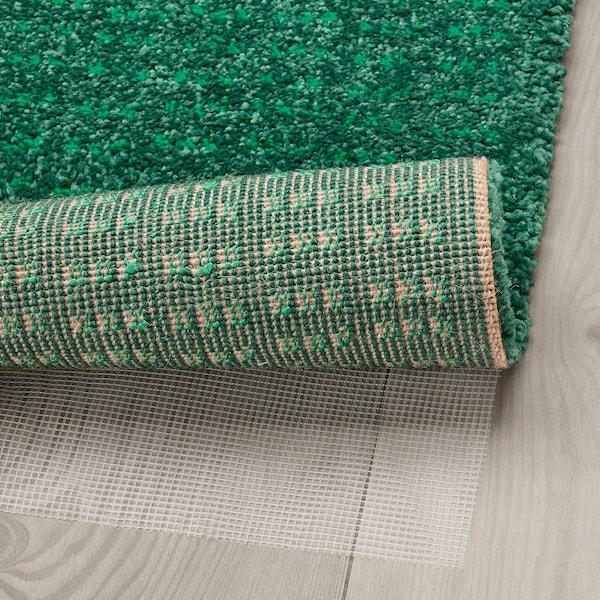 LANGSTED koberec, nízký vlas zelená 90 cm 60 cm 13 mm 0.54 m² 2500 g/m² 1030 g/m² 9 mm