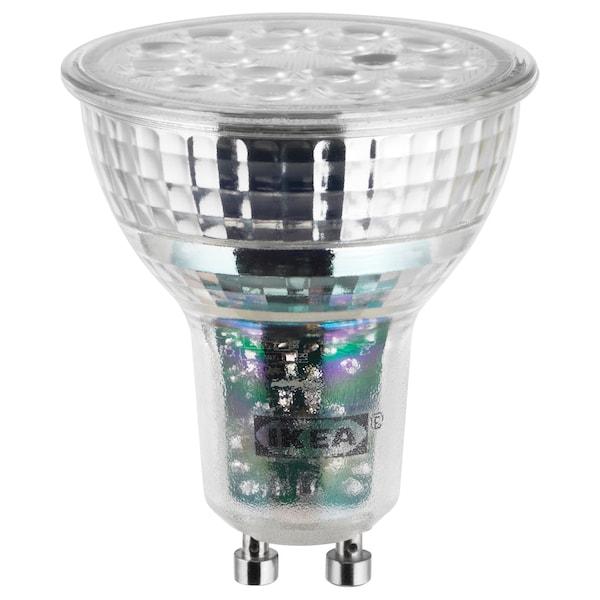LEDARE Žárovka LED GU10, 600 lumenů, stmívání v teplých barvách