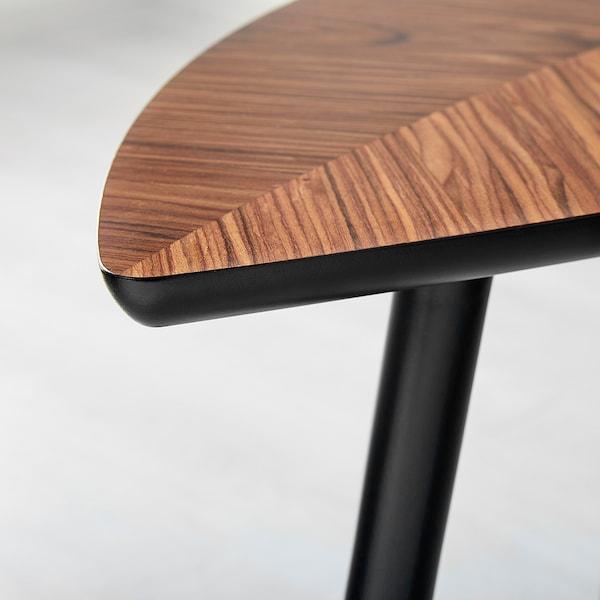 LÖVBACKEN Odkládací stolek, středně hnědá, 77x39 cm