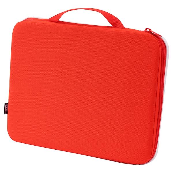 MÅLA Přenosné pouzdro na výtv. potřeby, červená, 35x27 cm