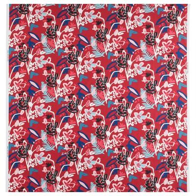 MÅLARBORSTE Látka, červená/barevné, 150 cm