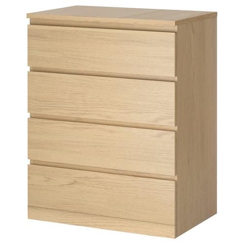 IKEA MALM Komoda se 4 zásuvkami