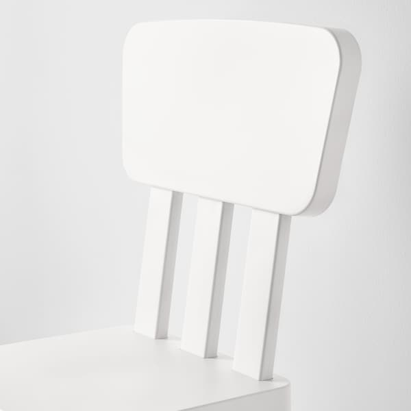 MAMMUT Dětská židle, vn./venkovní/bílá