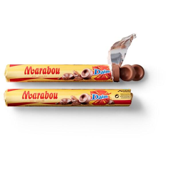 MARABOU Čokorolky daim